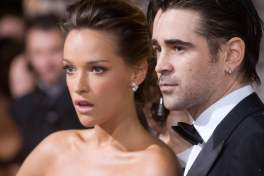Alicja Bachleda and Colin Farrell