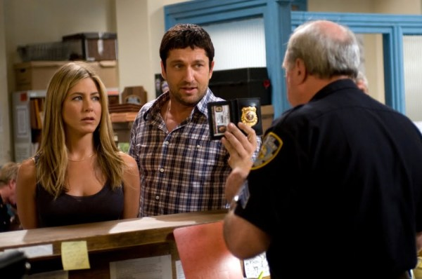 Jennifer Aniston and Gerard Butler in The Bounty Hunter