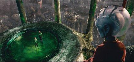 A scene from Green Lantern