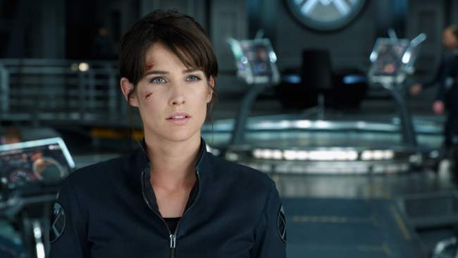 Colbie Smulders as Maria Hill in The Avengers