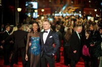 Naomie Harris and Daniel Craig