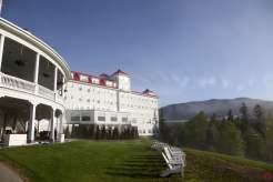 "The ""back yard"" of the Omni Mount Washington Resort"