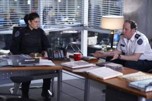 Rookie Blue stars Missy Peregrym and Matt Gordon