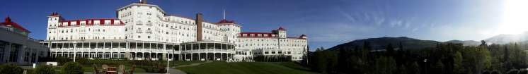 Panorama of the Mount Washington Hotel