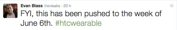 Evan Blass HTC smartwatch notizia