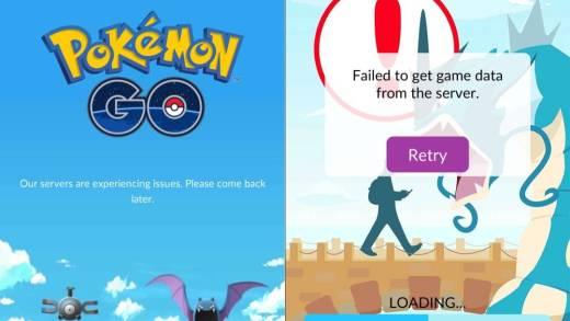 server pokemon go