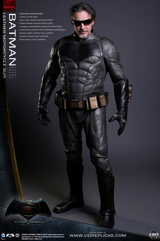 Batman Leather Motorcycle Suit by UD Replicas