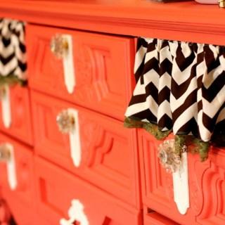 Quite Coral Dresser