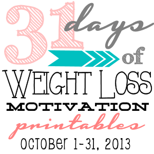 31 DAYS OF WEIGHT LOSS MOTIVATION