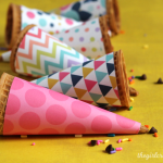 Printable Ice Cream Cone Wrappers-Feature