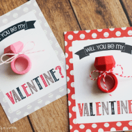 Eraser Ring Valentines