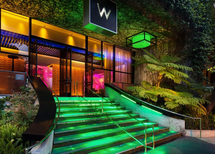 W Hotel, West Beverly Hills, Los Angeles, CA, United States of America, Exterior
