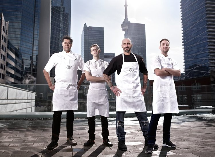 The four chefs behind Taste of the Six -Sean