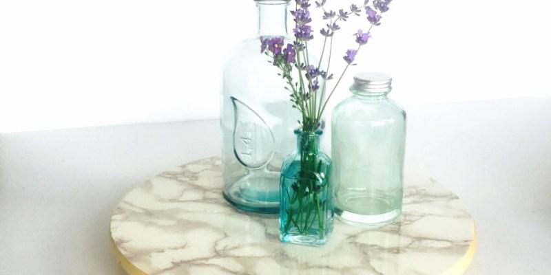 marble lazy suzan