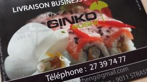 ginko menu