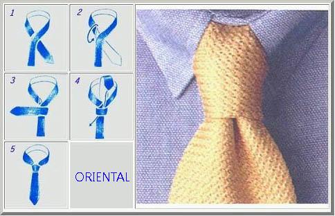 Personal shopper barcelona thegoldenstyle tie 2 oriental for Nudos de corbata modernos