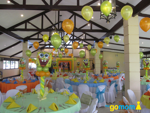 Spongebob Kiddie Party