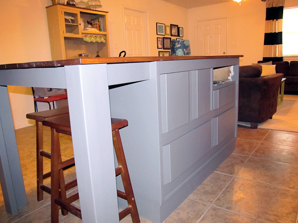 Diy Kitchen Island From A Dresser The Good The Bad And The Truth