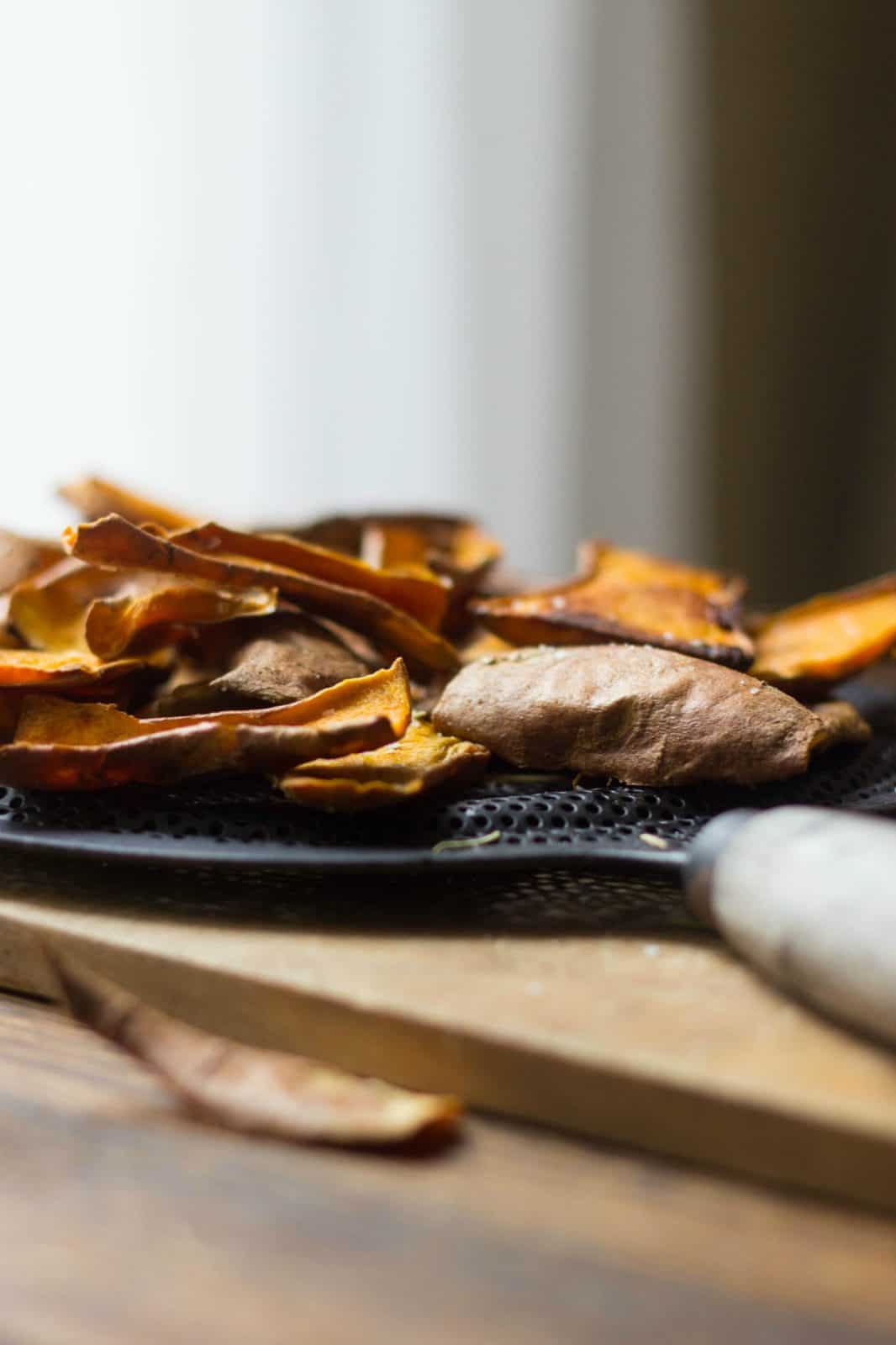 how to cook sweet potato with skin on