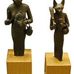 Bronze_figures_of_Bastet,_Late_period