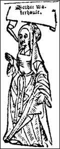 Agnes Waterhouse First person to be executed for witchcraft 1566 Source:  Wikipedia