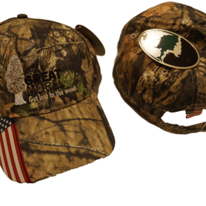 The Great Morel ball cap - American Flag Camo Hat - Mossy Oak ®