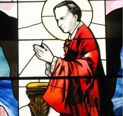 Saint John Neumann (1811-1860), Philadelphia. As an immigrant priest assigned to immigrants, he showed the leadership that would later build the first U.S. parochial schools. Made a bishop four years after becoming a citizen.