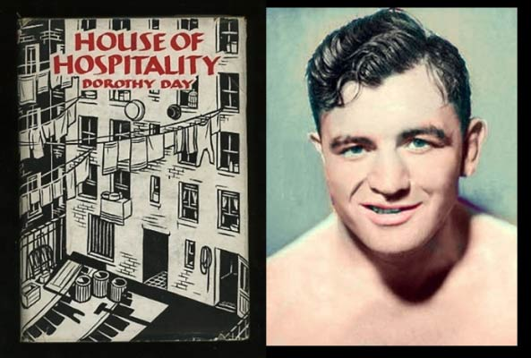 James Braddock (1905-1974) was heavyweight champion from 1935-1937. He wanted to play football for Knute Rockne in Notre Dame, but didn't get accepted. He served the poor in Dorothy Day and Peter Maurin's Catholic Worker Movement.