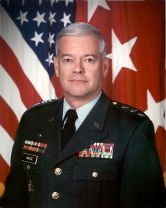 Let Gen. Timothy Maude stand for the victims. Gen. Maude, a Knight and Extraordinary Minister of the Eucharist, died when the plane hit his Pentagon office.