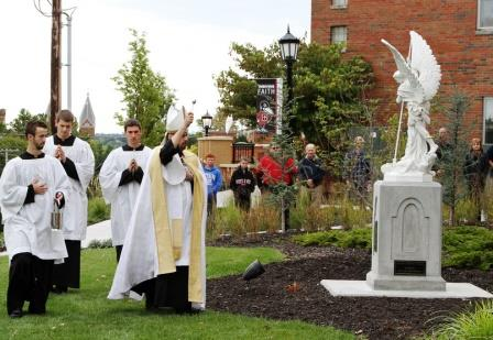 October 25: St. Michael Hall and chapel were dedicated as the ninth new Benedictine College residence hall since the year 2000.
