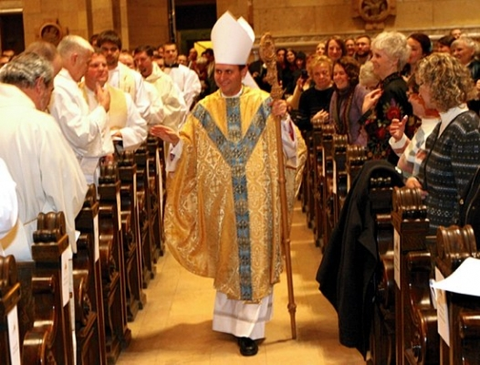 October 11: Bishop Andrew Cozzens was named a bishop by Pope Francis, the seventh Raven bishop in the 21st century.