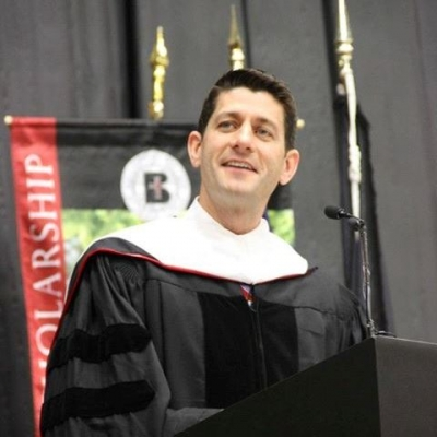 May 11, Benedictine College Commencement: Congressman Paul Ryan gave an address on Catholic social thougt, signaling national budget news.