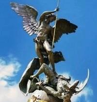 Vatican's new statue.