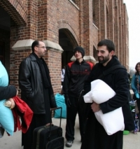 Kansas monks ready to March for Life.