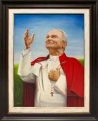 Portrait at Benedictine College's St. John Paul II Student Center.