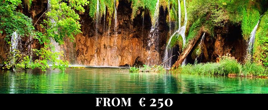 Zagreb - Plitvice Lakes National Park - Split