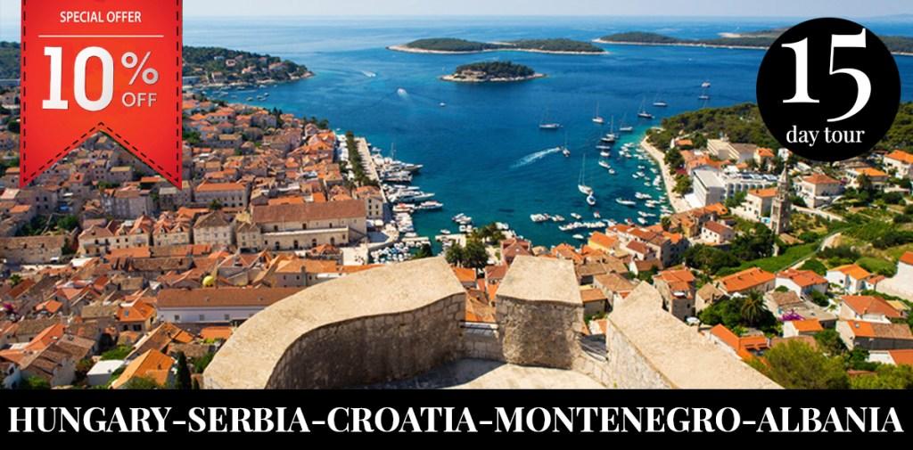 hungary-serbia-croatia-montenegro-albania