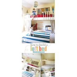 Small Crop Of How To Build A Loft Bed