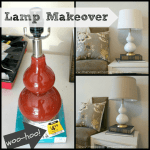 lamp makeover Collage
