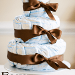 easy diaper cake