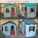 painted playhouse collage
