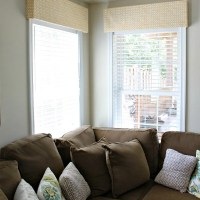 10 minute, $10 DIY Window Valance & Popular Post Round Robin