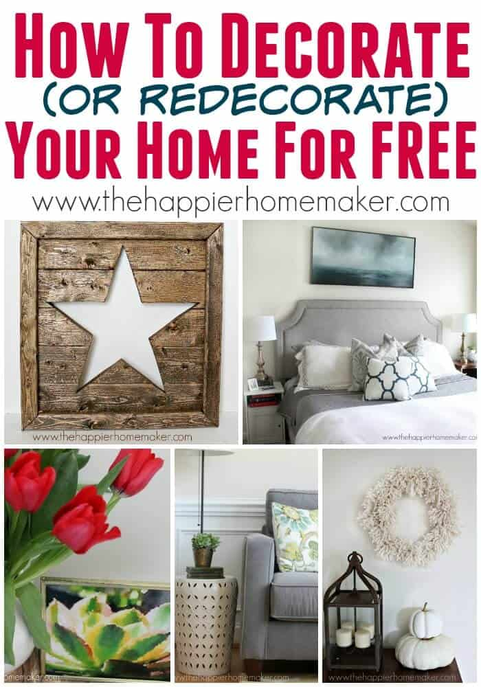 how to decorate for free
