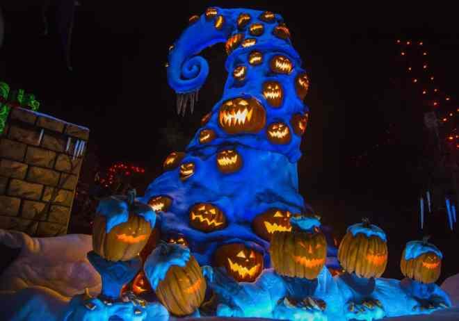 Haunted Mansion Holiday Sept. 9 through Oct. 31 at the Disneyland Resort. (Paul Hiffmeyer/Disneyland)