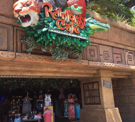 Rainforest Cafe at Downtown Disney