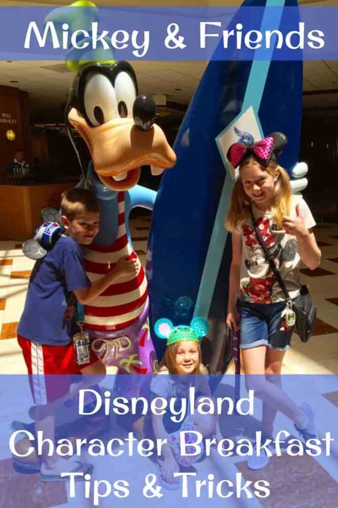Meet Disney characters, no Disneyland park tickets required! Mickey & Friends breakfast at PCH Grill.
