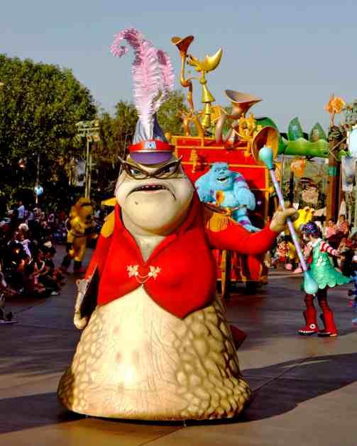 Pixar Play Parade, photo courtesy Disneyland Resort