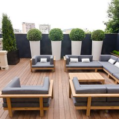 Timber Furniture for Outdoor Design: For and Against