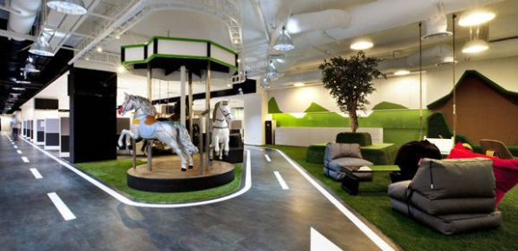 5 of the wackiest offices in the world