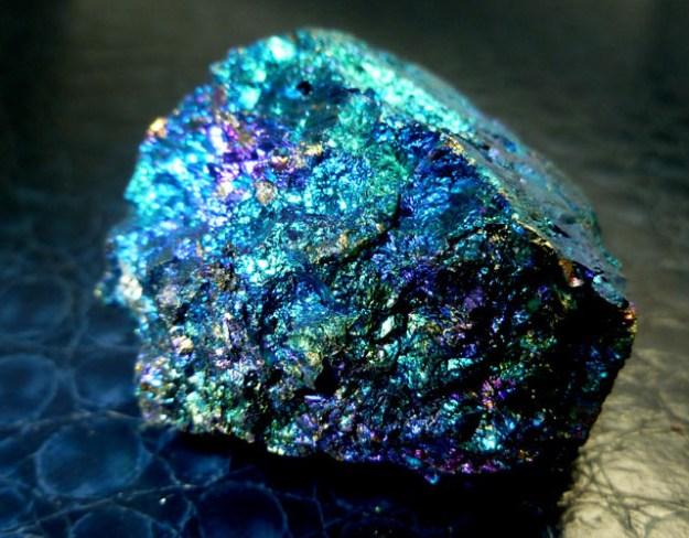 chalcopyrite peacock ore